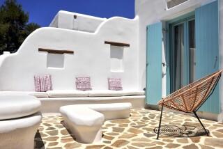 Executive Suite Medusa Resort Naxos veranda