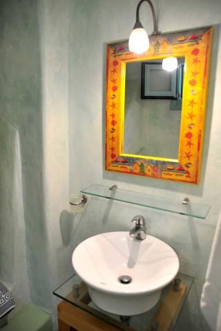 family suite medusa resort bathroom area