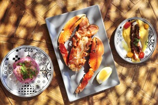 restaurant medusa beach resort naxos seafood