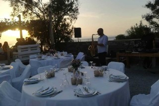 weddings and events medusa resort saxophone