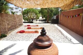 yoga medusa beach resort in naxos