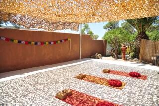 yoga sessions medusa beach resort in naxos