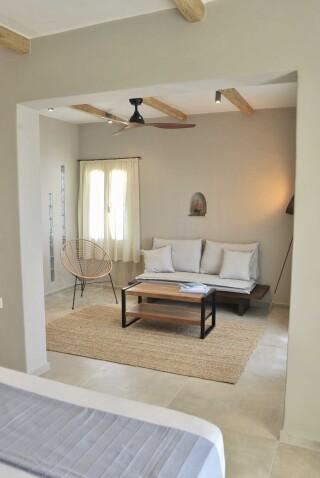 sea view suite medusa beach resort naxos amenities
